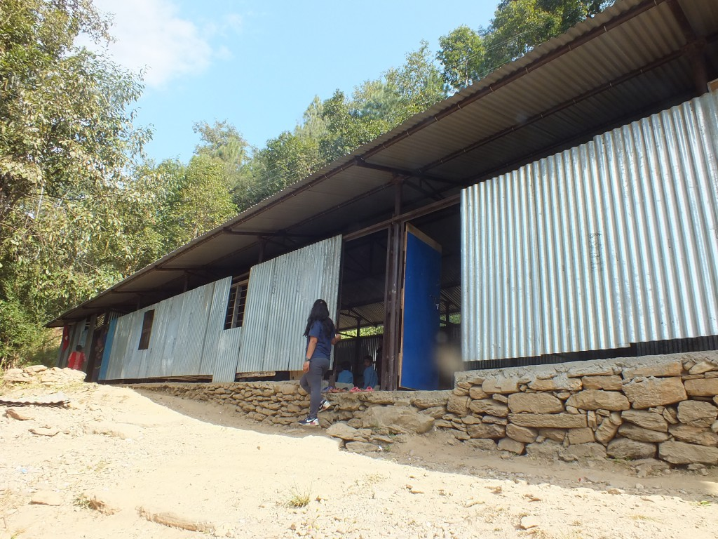 Delivery 3 ; Shree Devisthan Primary School, Baseri-7 Dhading.