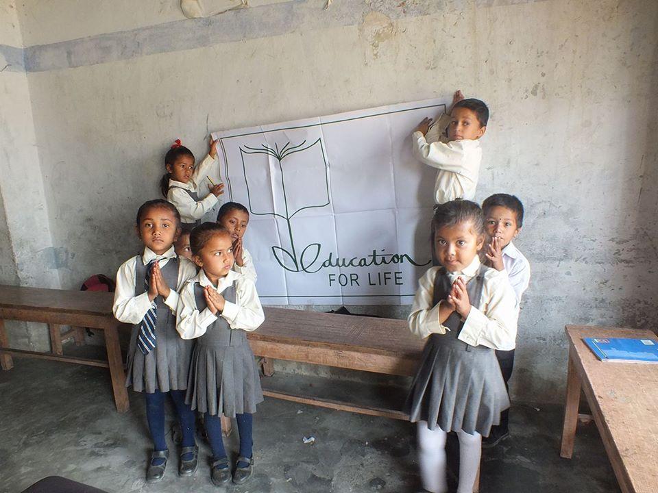 New library books to Shree Harishiddhi Primary school-Pokhara Nepal
