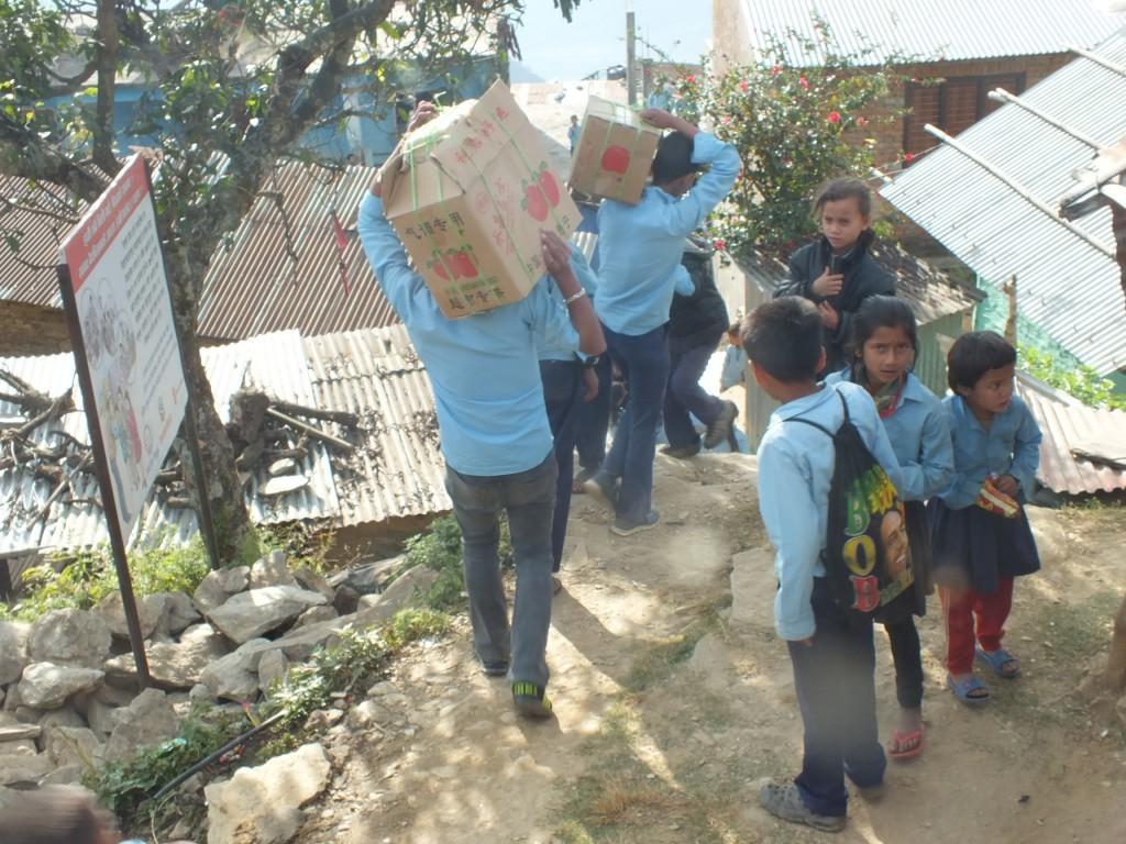 Delivery 4; Shree Maha Laxmi Higher secondary school, Dhading.