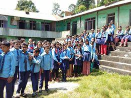 2 new libraries in Nuwakot !